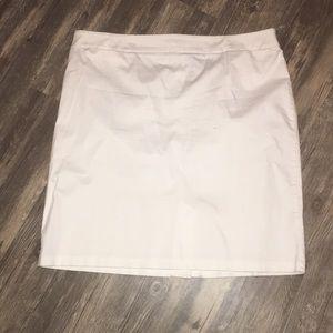 New York & Co. white skirt